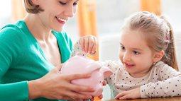 80% phụ huynh thất bại trong việc dạy con tiêu tiền do không biết 5 nguyên tắc này