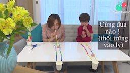 Chơi cùng con: Trò chơi Đường đua tí hon
