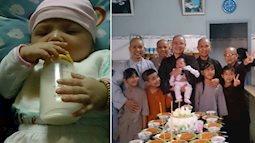 Xót xa bé gái 4 tuổi bị bỏ rơi trước cổng chùa lúc mới sinh mang dị tật khớp háng hiếm gặp