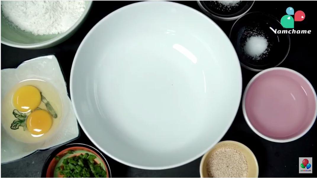 cách làm bánh mỳ mè mặn