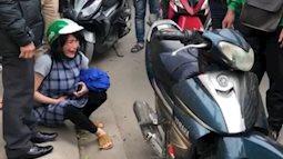 8/3 ở Hà Nội: Grab Bike quát mắng bà bầu, bắt đền 700k vì hỏng chắn xích