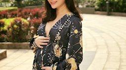Diễn viên Lan Phương ngộ độc khi mang bầu 6 tháng