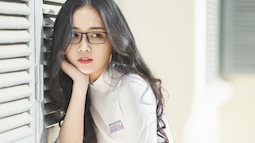 Không thể rời mắt trước bộ hình áo dài quá xinh của nữ sinh 2000 đến từ Đắk Lắk
