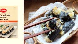 Món ngon ngày Tết với biến tấu lạ miệng của rong biển Hàn Quốc