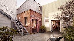 Chỉ với 8m2, phòng giặt đồ cũ kỹ lột xác thành ngôi nhà tuyệt đẹp