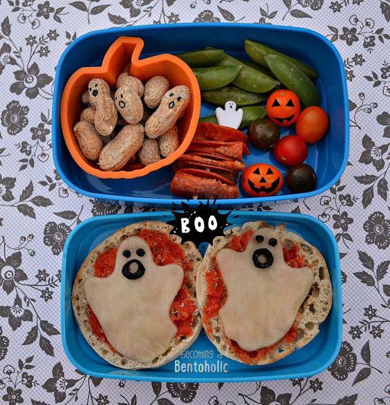 Những hộp cơm bento cho trẻ theo chủ đề Halloween vô cùng đáng yêu - Ảnh 15.