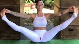 Clip lộ vết máu kinh nguyệt khi đang tập Yoga thu hút hàng trăm nghìn lượt xem
