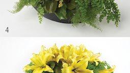 2 cách cắm hoa ly cho phòng khách thêm rực rỡ ngày Tết về