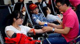 Xuân Hồng vừa khai hội đã tiếp nhận gần 1000 đơn vị máu