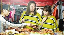 Hari Won 'trốn chồng', mặc áo đôi cùng bạn thân Trấn Thành du lịch Sapa