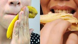 Ăn chuối tiêu xong, bạn đừng phí phạm vất vỏ đi, vì nó có cả ngàn tác dụng