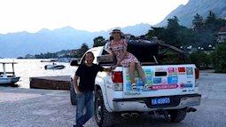 Ông bố chiều con gái nhất thế gian: lái xe nửa vòng Trái Đất đưa con gái sang Mỹ du học