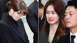 """Loạt sao Hàn không kìm nổi nước mắt, cùng hàng trăm fan đưa tiễn tài tử """"Reply 1988"""" tại lễ tang"""