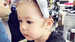 Uốn tóc cho trẻ: Cách làm điệu sang chảnh hay mối nguy hiểm tiềm ẩn?