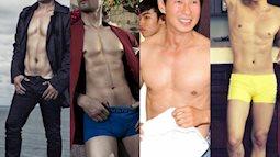 """Khi các quý ông U40 của showbiz Việt cởi áo khoe """"body 6 múi"""""""