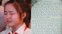 Cô bé lớp 9 viết thư gửi mẹ đã mất khiến ai cũng bật khóc