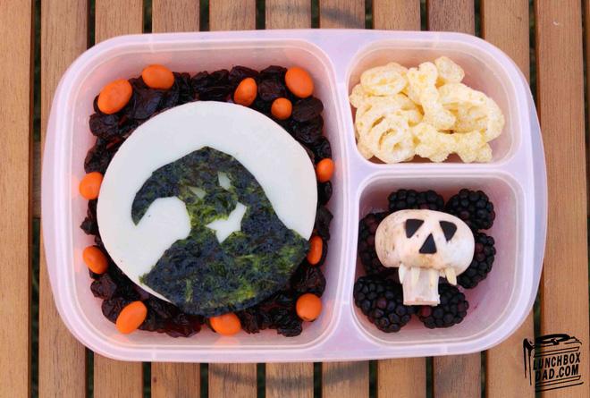 Những hộp cơm bento cho trẻ theo chủ đề Halloween vô cùng đáng yêu - Ảnh 12.