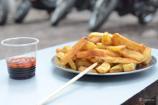 Có một thiên đường ăn uống mà học sinh trường nào cũng biết nằm ngay cổng trường THPT Việt Đức - Ảnh 5.
