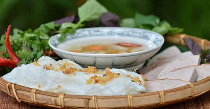 Bánh cuốn Thanh Trì mỏng tang, thơm mùi gạo quê