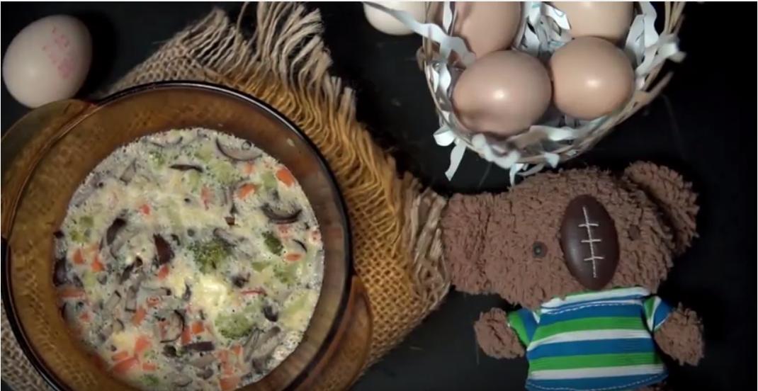 trứng hấp tôm phô mai - ảnh 15