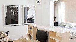 Căn hộ nhỏ 22 m2 nhưng vẫn giúp gia chủ thoải mái sống vì tận dụng được mọi góc nhỏ