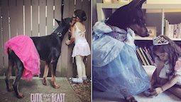 Nhìn loạt ảnh xinh xắn này, bạn sẽ muốn có ngay một đứa con gái kèm 1 chú chó đấy!
