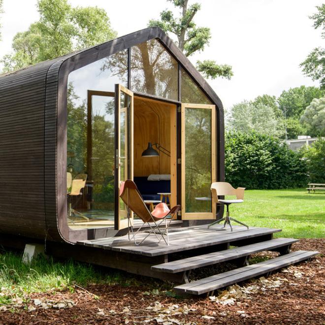 """Ngôi nhà nhỏ 50m² đẹp lãng mạn và có thể """"mang theo"""" đến bất kỳ đâu - Ảnh 4."""