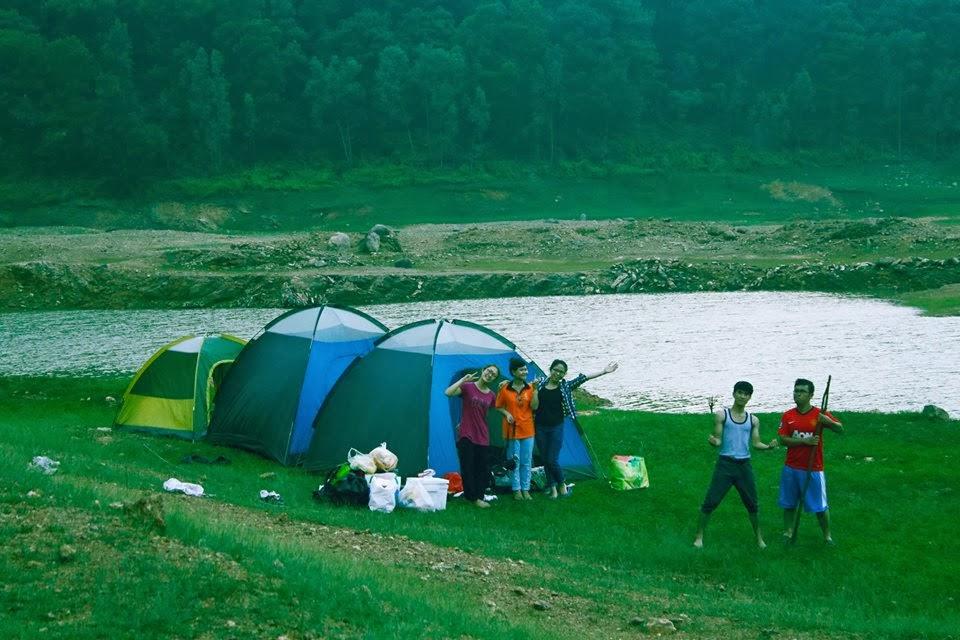 Cắm trại tại đây cũng là một lựa chọn hấp dẫn