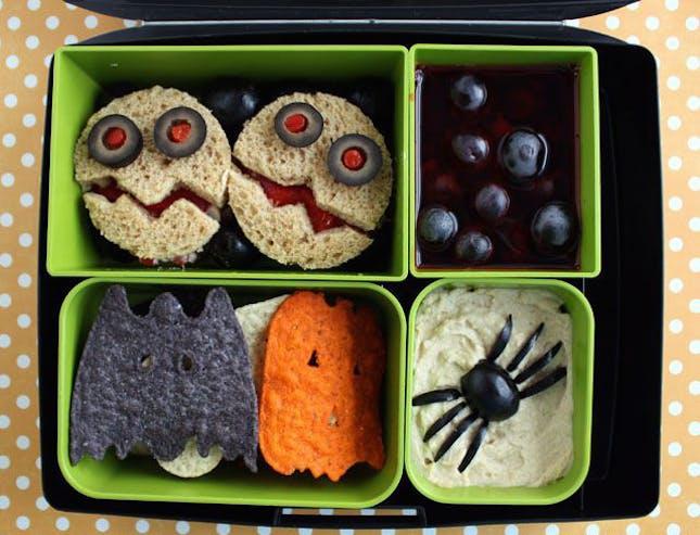 Những hộp cơm bento cho trẻ theo chủ đề Halloween vô cùng đáng yêu - Ảnh 19.