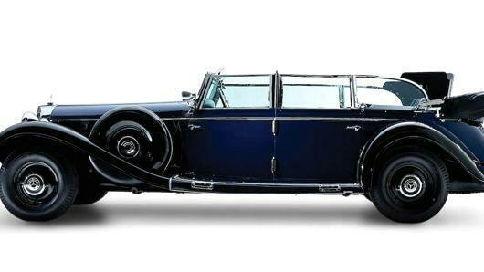 Siêu xe Mercedes của Hitle được rao bán mức giá kỷ lục - Ảnh 1.