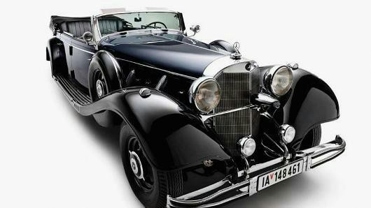 Siêu xe Mercedes của Hitle được rao bán mức giá kỷ lục - Ảnh 2.