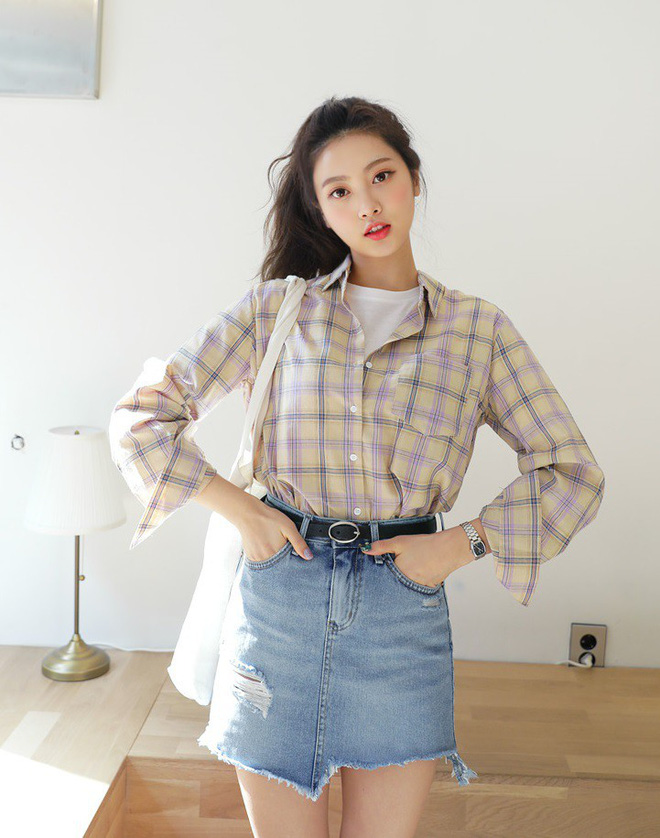 """Tuyệt chiêu để """"lúc nào cũng mặc đẹp"""" của con gái Hàn nằm cả ở 12 món đồ và cách mix này - Ảnh 20."""