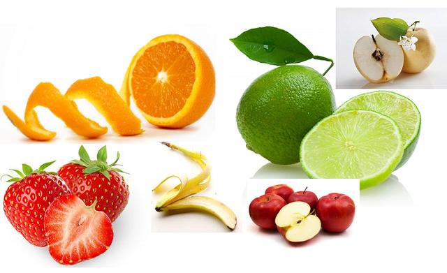 hoa quả giúp răng trắng đẹp tự nhiên