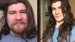 Giảm 30kg, cắt sạch râu, chàng trai trẻ giờ đẹp như hoàng tử Disney khiến nhiều cô nàng tiếc hùi hụi