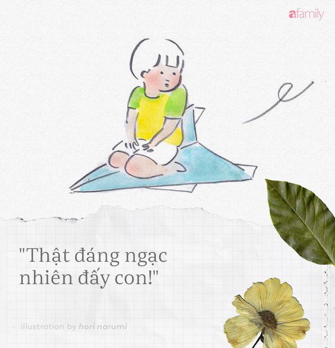 Dù bận đến mấy bố mẹ cũng đừng quên nói với con những câu này hàng ngày - Ảnh 6.