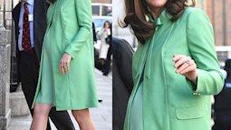 Công nương Kate Middleton: bầu bì vẫn mang giày 10 phân, bạn có dám?