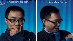 Chụp ảnh người đàn ông trước và sau khi trở thành cha, kết quả khiến nhiều người bất ngờ