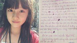 Bức thư bé gái gửi cho bố: 'Con biết rằng không ai muốn con có mặt trên đời này...'