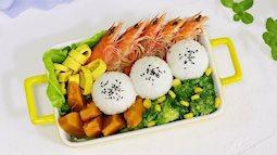 """Bữa trưa chỉ cần một hộp cơm thế này là """"ấm no"""" hết cỡ"""