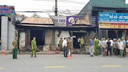 Hiện trường vụ cháy cửa hàng điện tử khiến 3 mẹ con tử vong thương tâm