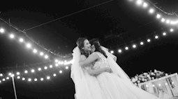Đám cưới đồng tính của 2 cô gái từng là tình địch giữa bãi biển thơ mộng và lung linh ở Bình Thuận