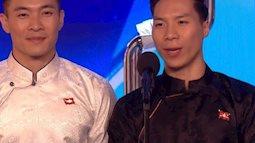 Cặp anh em Việt Nam tham gia Chương trình Tìm kiếm tài năng của Anh