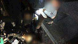 Tông vào đuôi ô tô dừng bên đường, 4 học sinh tử vong