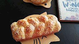 Cách làm bánh mì hoa cúc thơm ngon mà rất đơn giản