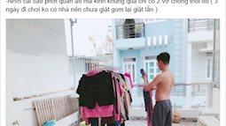 """Cô vợ trẻ khoe chồng đảm, suốt 2 năm không phải nấu cơm giặt giũ khiến chị em """"đỏ mắt"""" ghen tị"""