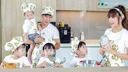 Minh Hà 30 tuổi đã sinh 4 con vì Lý Hải chịu làm điều này
