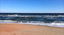 Nghỉ lễ ở biển, bé trai 4 tuổi bị sóng biển cuốn đi