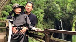 Vợ chồng Lệ Quyên cùng Hoa hậu Hà Kiều Anh du lịch Nhật Bản