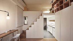 Chỉ 22 m2 nhưng từng centimet trong căn hộ đều khiến bạn phải trầm trồ vì không thể hợp lý hơn