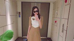 Hoa hậu Thu Thảo khoe vóc dáng thon gọn sau 1 tháng sinh con, sao Việt hết lời khen ngợi